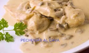 PECHUGAS AL CAVA