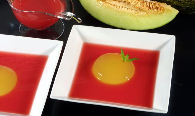 sopa de sandia