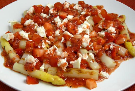 Ensalada de esparragos blancos y fresas cocinar con tenchi Cocinar con 5 ingredientes