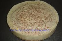 tarta de chocolte blanco